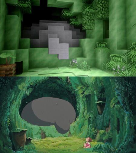Minecraft Totoro 06
