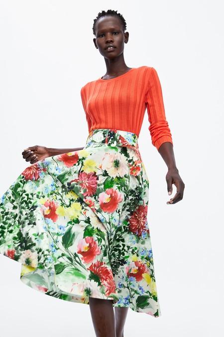 Zara Estampado Floral 18
