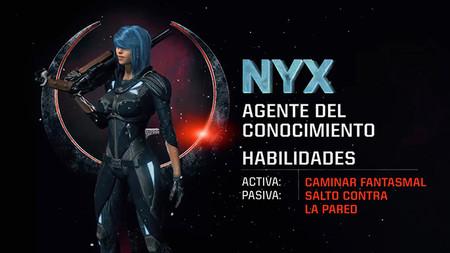 Conoce a una de las campeonas de Quake Champions: Nyx