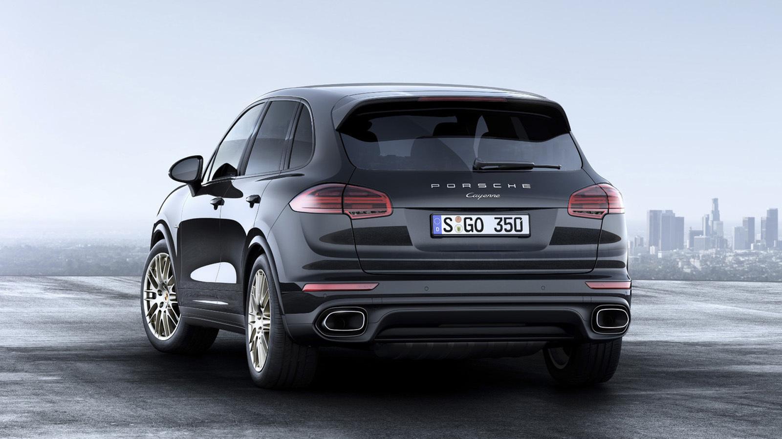 Foto de Porsche Cayenne Platinum Edition (3/6)