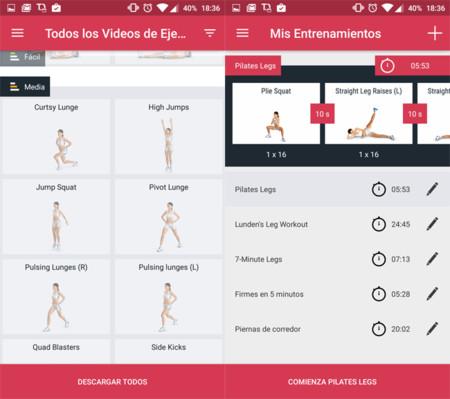 Runtastic quiere que no te saltes el día de entrenamiento de piernas con esta aplicación