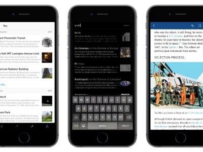 Curiosity, la aplicación perfecta para los que les gusta curiosear en la Wikipedia