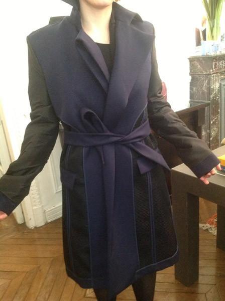 superposiciones abrigo