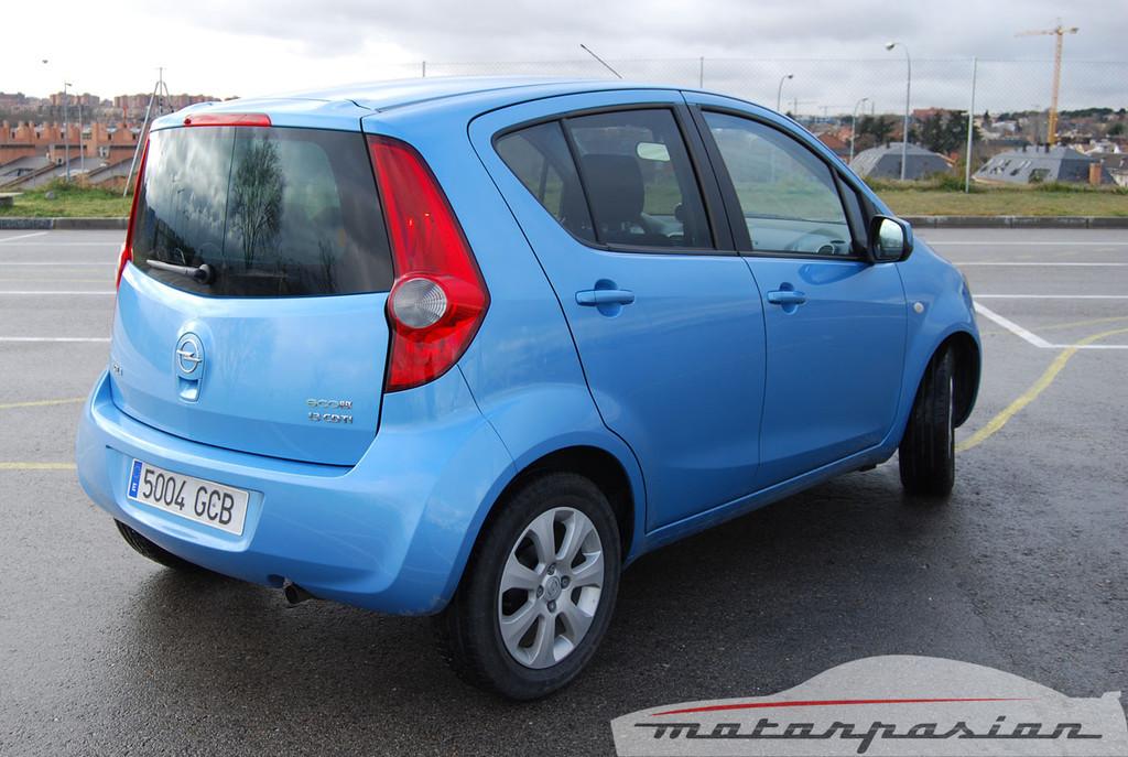 Foto de Opel Agila (prueba) (12/44)