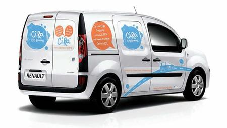 Van-sharing, el 'car-sharing' con furgonetas