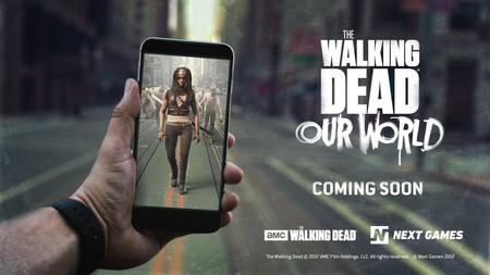 Cazar zombies a lo Pokémon GO: llega 'The Walking Dead: Our World', el nuevo juego de AR para móvil