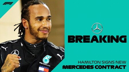 Hamilton Mercedes F1 2021