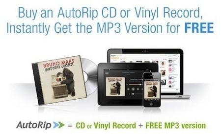 AutoRip, también para discos de vinilo en Amazon