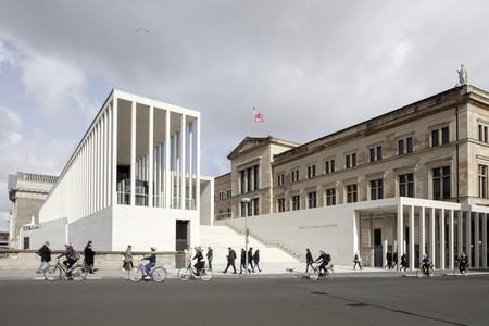 La Isla de los Museos de Berlín ya tiene un nuevo edificio: la James-Simon-Galerie