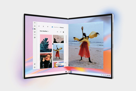 Esta patente de Microsoft nos enseña cómo podría ser el sistema de bisagras en una posible pantalla flexible