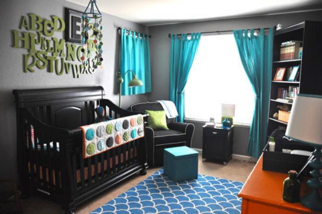 Dormitorio que usa los colores de esta primavera
