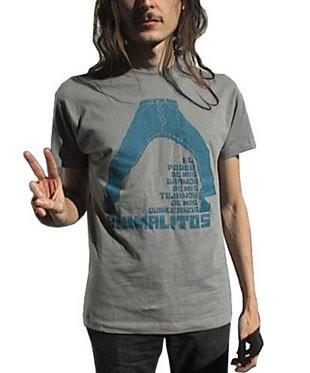 Camiseta 'El poder de mis tejanos' de Hidrogenesse