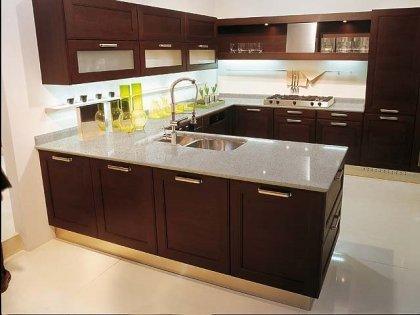 Pon una encimera de cuarzo en tu cocina for Mejor material para encimeras de cocina