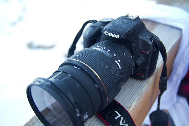 Fotografiar con bajas temperaturas: cómo evitar la condensación