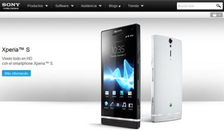 Sony Xperia S estará a la venta el 29 de febrero en exclusiva en la Sony Store de Barcelona