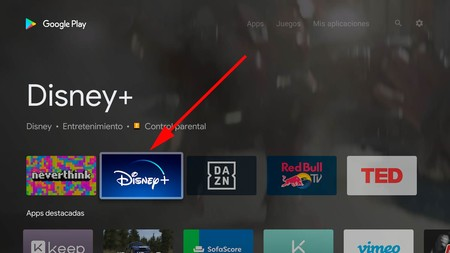 Instalar Disney Plus Android Tv