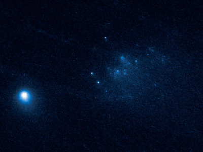 El Hubble capta imágenes de un cometa desintegrándose a 100 millones de km