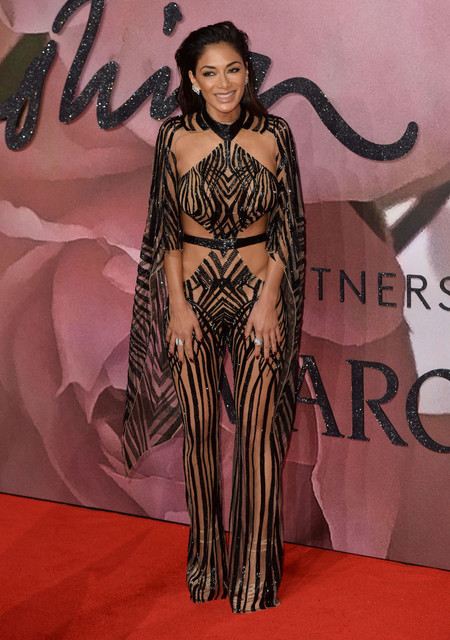 British Fashion Awards 2016 Nicole Schrezinger