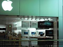 ¿Tiendas Apple en aeropuertos?