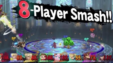 Smash Bros 8 Players