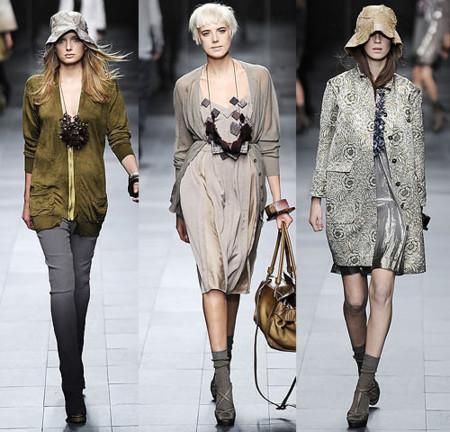 Burberry Prorsum en la Semana del a Moda de Milán Primavera-Verano 2009