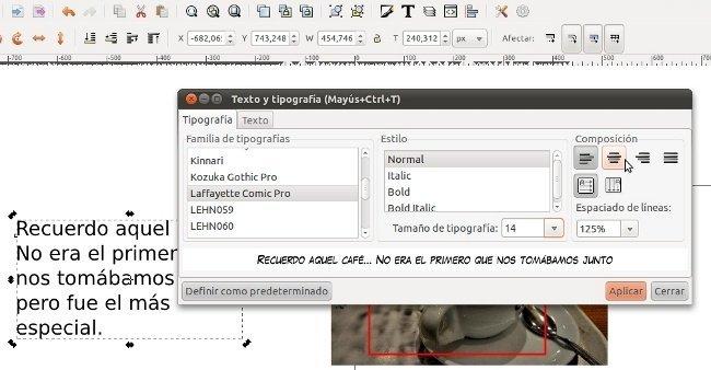 Modificando el formato del texto