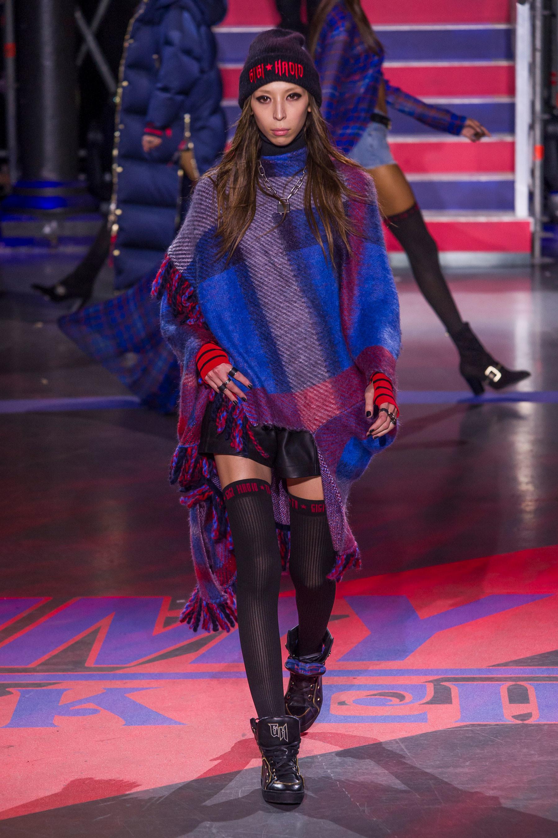 Gigi Hadid protagonista del circo de Tommy Hilfiger