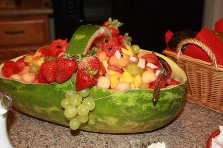 ¿Qué niño se resistiría a una de estas formas de presentar las frutas?