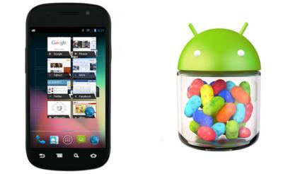 Nexus S empieza a recibir Android 4.1.1 (Jelly Bean)