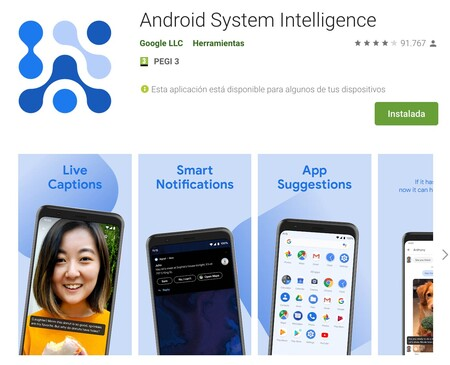 Android System Intelligence