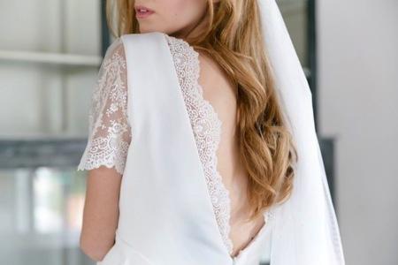 Vestidos de novia con puntillas