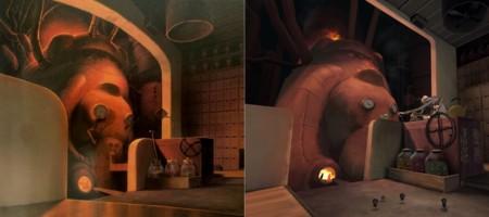 Oculus Rift Spirited Away Boiler Room Screenshot