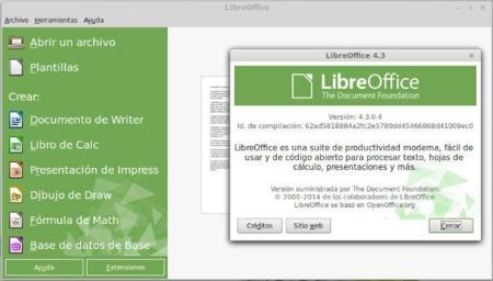 LibreOffice 4.3 debuta con mejor soporte de formatos y muchas pequeñas mejoras