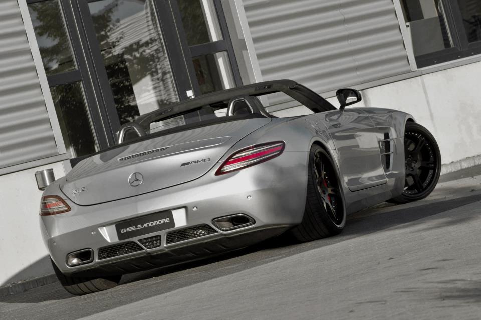 Foto de Wheelsandmore Mercedes-Benz SLS AMG Roadster (1/4)