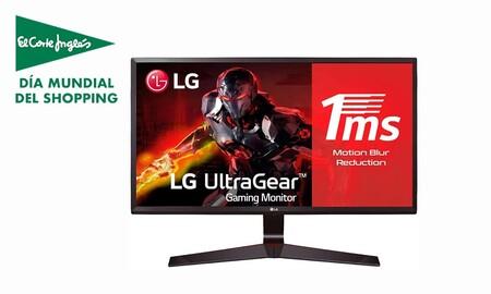 El Single's Day de El Corte Inglés te lo pone muy fácil para estrenar monitor: tienes el LG 24MP59G-P por sólo 109 euros