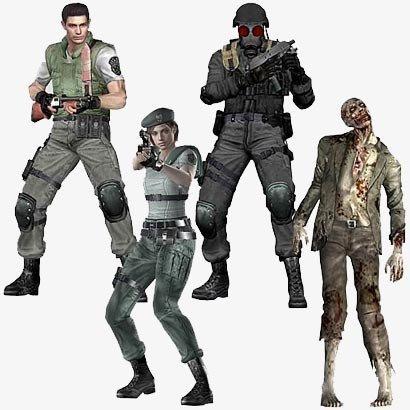 Resident Evil: figuras conmemorativas por su décimo aniversario