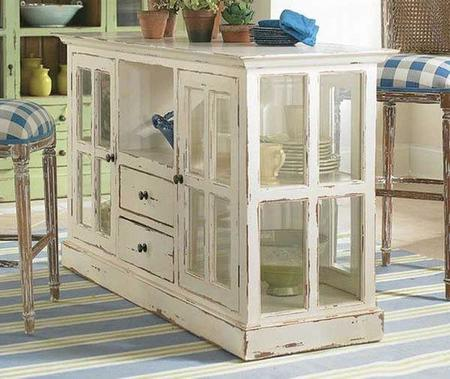 Rustic Homemade Kitchen Islands 1 Woohome