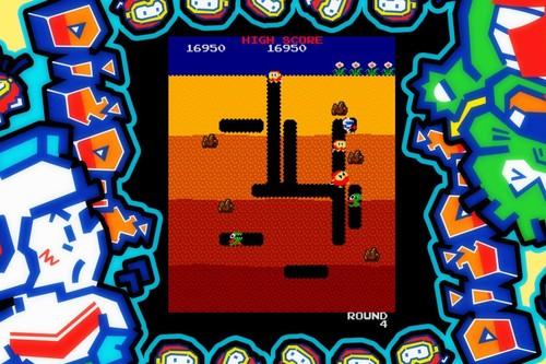 Retroanálisis de Dig Dug, un clásico de Namco muy profundo donde inflamos enemigos hasta hacerlos estallar