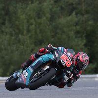 Fabio Quartararo lidera unos test de Brno en los que Valentino Rossi probó la nueva Yamaha de 2020