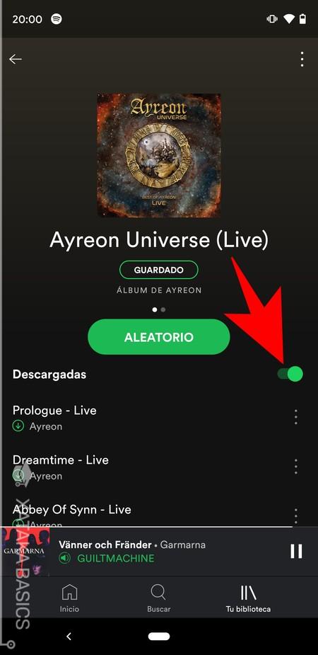 Descargas Spotify