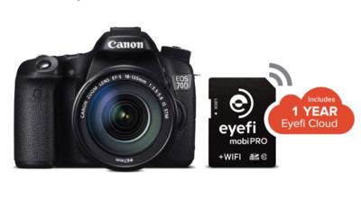 Eyefi Mobi Pro: la nueva tarjeta SD de 32 GB con transferencia inalámbrica de RAW