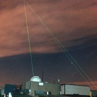 Llevamos más de 50 años disparando rayos láser a la Luna, todo por la ciencia