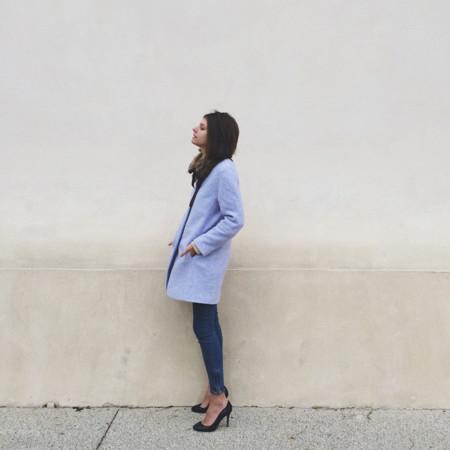 Abrigo corto Azul Invierno