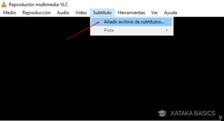 Añadir archivo de subtitulo