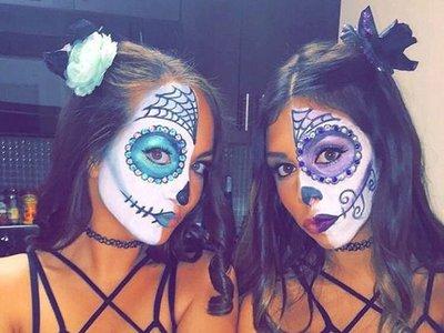 ¡No sin tus amigas! Diez maquillajes de Halloween para lucir en grupo