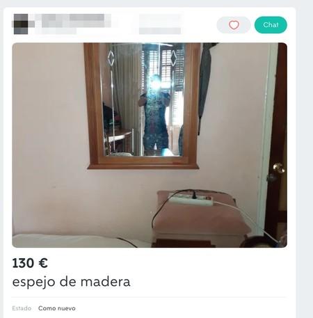 Window Y Espejo De Madera De Segunda Mano Por 130 Eur En Melilla En Wallapop