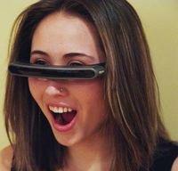 Myvu permite ver video en formato ampliado