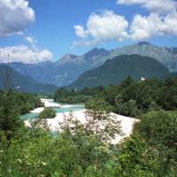 Si os preguntabáis dónde se habían rodado Las Crónicas de Narnia, pues fue en el río Isonzo