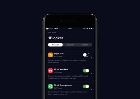 1Blocker X para iOS: así es la nueva versión del bloqueador de contenidos más personalizable de todos