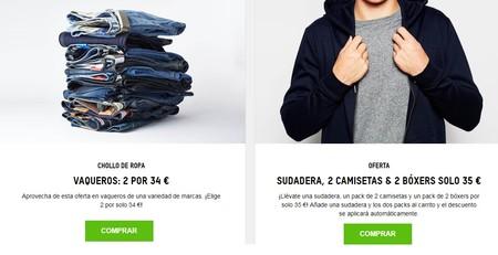 Zavvi te hace un vestuario nuevo por 69 euros gracias a dos promociones en vaqueros, sudaderas, camisetas y bóxers